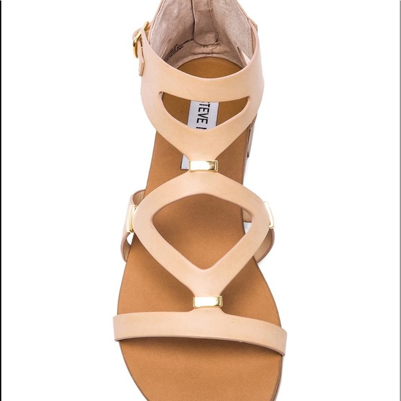 """5efdfc923e29 Steve Madden """"comma"""" sandal in natural. M 5ad2755f8af1c5817efd6c93"""